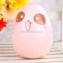 china supplier customized egg money box/design injection abs plastic money coin bank/Discount price oem customized egg coin bank