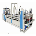 automatic folding and gluing machine