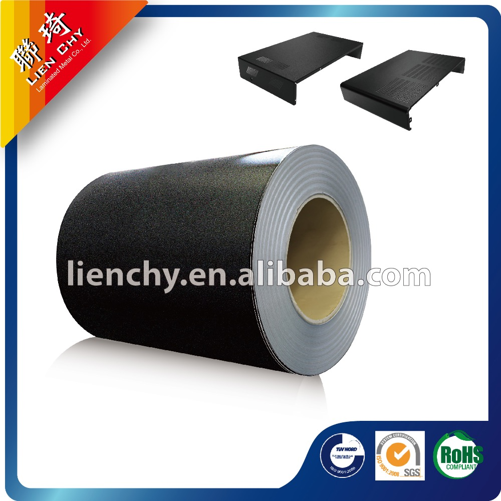 High Quality Formosa Starry Black Film A103 VCM Laminated Steel coil /sheet