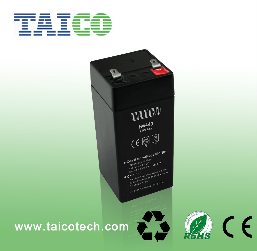 Agm Batteries 4ah 4v Rechargeable Battery