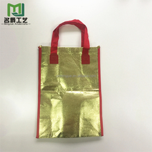 New Arrival and Low MOQ Metallic Non Woven Shopping Bag