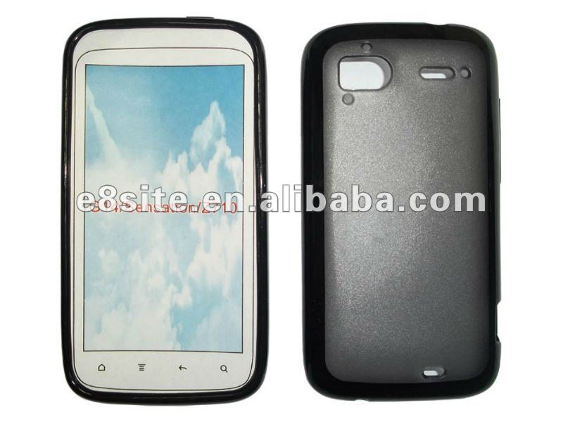 TPU + PC Frame Cell Phone Cover Case For HTC Sensation Z710