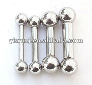 big gauges industrial barbell piercings factory