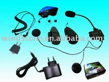 800 meters bluetooth intercom headset for full face helmet and half face helmet