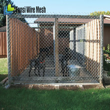 Outdoor Galvanized pet Enclosure Run Play Pen dog kennels with chain link dog kennel