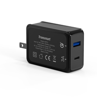 USB C Charger 3A Tronsmart W2PTU Wall Charger Type C Port for Xiaomi Mi5 Samsung Galaxy S3 Nexus 5X 6P Charger Quick Charge 3.0