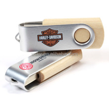 swivel pen drive USB 2.0 custom logo 16GB 32Gb 64 GB usb flash drive, usb stick housing for coopration gift