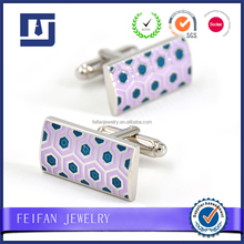 Wholesale High quality fashion cuff link business gifts metal mop ...
