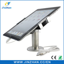 2016 new arrival tablet table mount for retail security, tablet holder stand for ipad