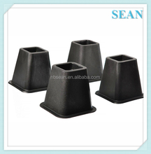 Good Quality Plastic dining table leg risers