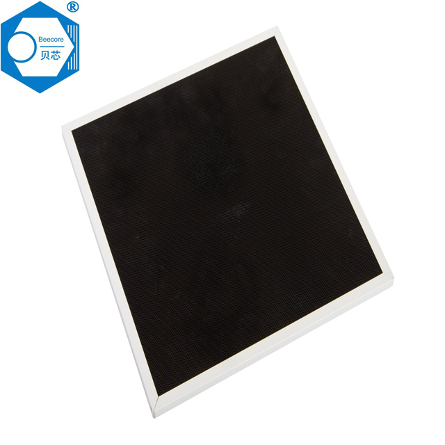 Carbon air filter sheet of air filter sheet honeycomb basis activated carbon