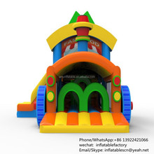 PK Commercial Grade Gaint Indoor Inflatable Castles Inflatable Jumping Bouncer For Kids Sale
