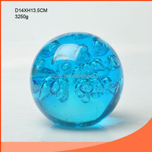 Elegant crystal ball of blue wholesale