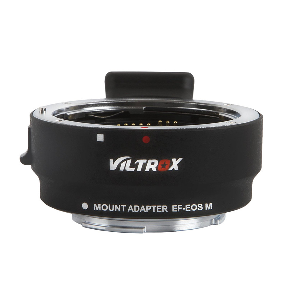 Viltorx EF-EOS M Lens Mount Adapter Ring for Canon EOS M to EF lens Auto Focus