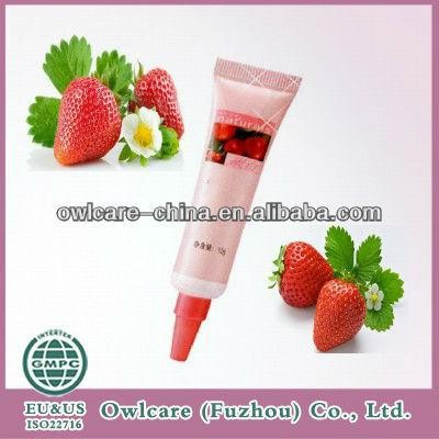 Strawberry natural eye gel ,Anti-wrinkles & Firming eye cream