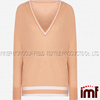 New Products 2016 V Neck Fashion Lady Sweater Women Sweater