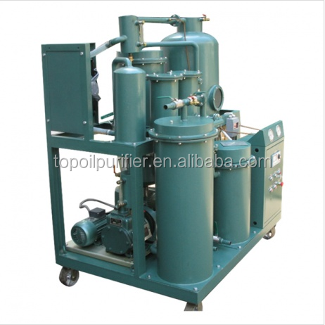 Series TYA Industrial Lubricant Oil and Crude Oil Purification Machine