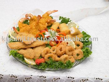 Breaded Seafood Products