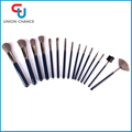 15PC Synthetic Hair Makeup Brush Set Go Pro Makeup Brush Personalized Makeup Brushes