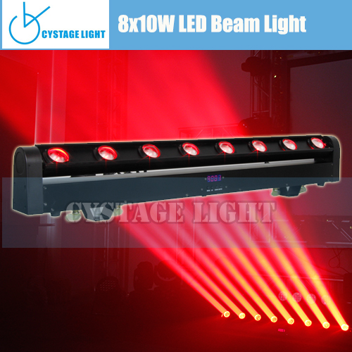Led Pixel Linear 8 Eyes RGBW 4in1 Beam Moving Head Led Bar Disco Light