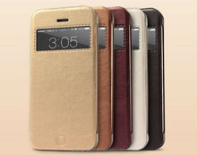 Newest Fashion style Flip Case for Iphone5 5S High Quality leather case Retail and wholesale With Package
