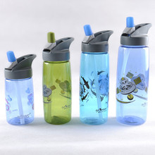 High-end popular plastic water bottle BPA free, plastic space bottle, sports water bottle with logo printing