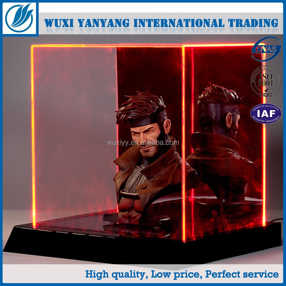 New products acrylic led display box case for toy