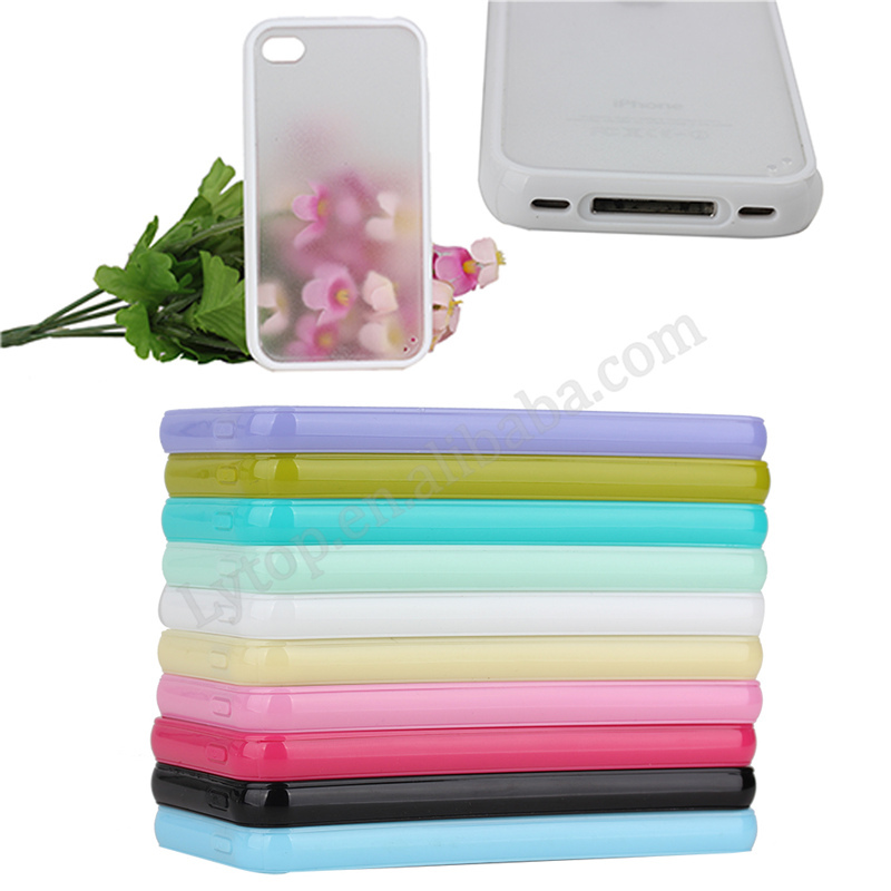 Matte PC Hard Case For iPhone 4 4s
