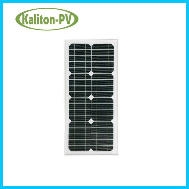 20W Watts Solar Panel High Quality Mono crystalline Photovoltaic PV Solar Module