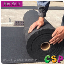 gym rubber floor roll with EPDM rubber roll