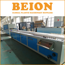 BEION vacuum calibration table for pvc window profile extrusion line