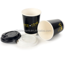 customized fresh milk double PE paper cups
