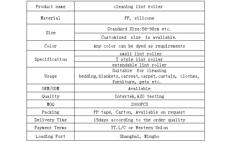 www.alibaba.com factory sell directly cheap clothes cleaning tape and lint roller refills tape, carpet lint roller