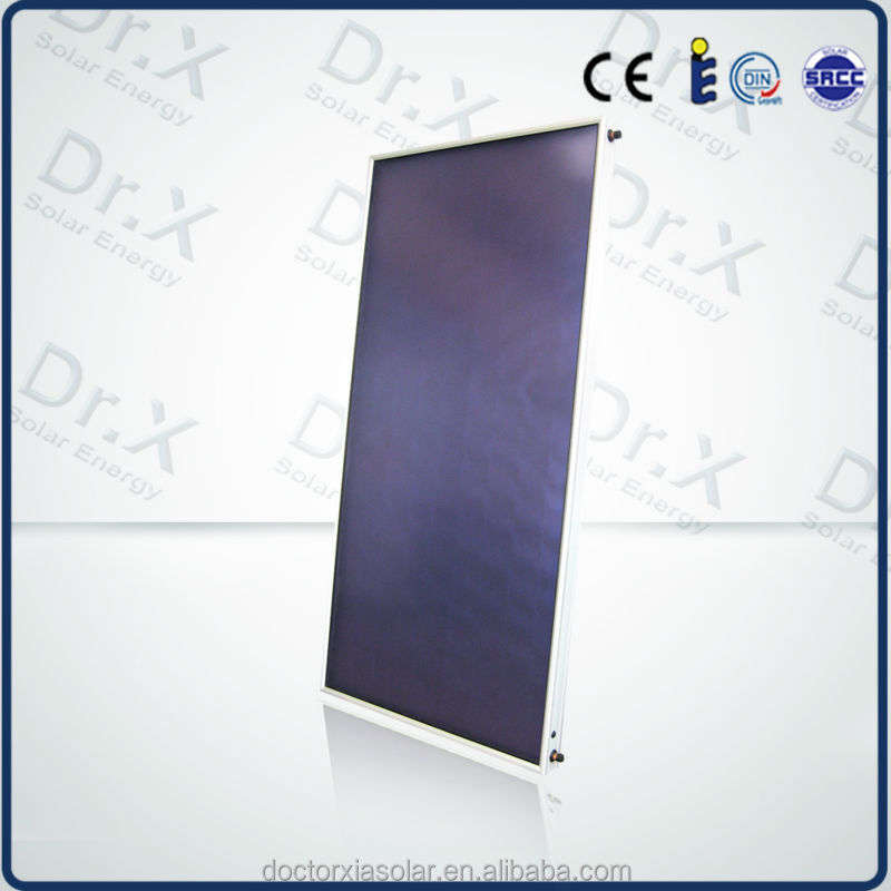 2015 high quality flat plate solar heatl collector prices,solar pool collector