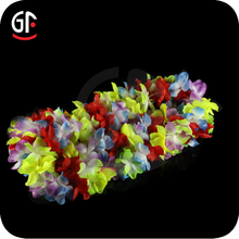 Christmas Decoration Hawaiian Leis Wholesale Led Flower Hawaiian Leis