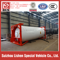 20 feet LPG tank container made in china