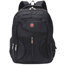 Heavy duty tough high-quality shakeproof waterproof pro sports travel multi purpose black backpack laptop