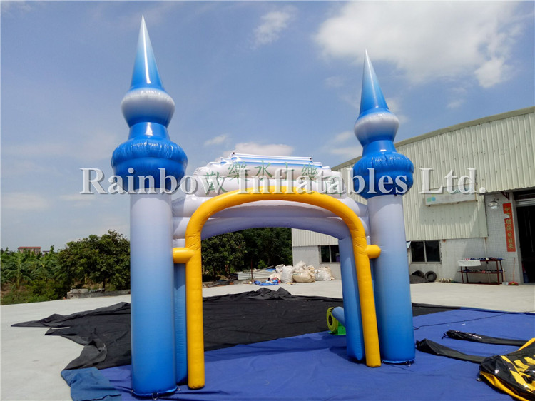 Entrance Decorarion Cheap Tower Inflatable Arch For Sale