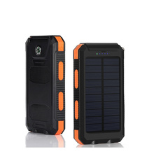 shenzhen 10000mAh portable outdoor power bank solar charger