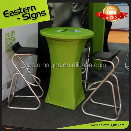 spandex high top cocktail table