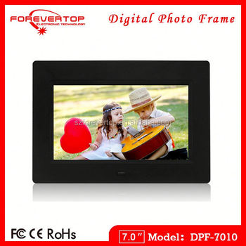 2016 factory low price 7 inch Full Function Digital Photo Frame