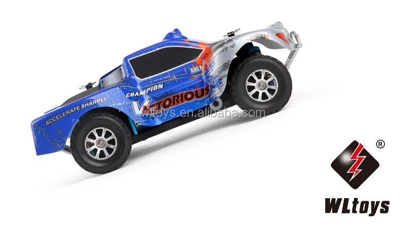 WL A969-B 1:18 RC Car High Speed 4WD RC Truck Metal RTR 2.4G Full Scale RC model Truck 70KM/H