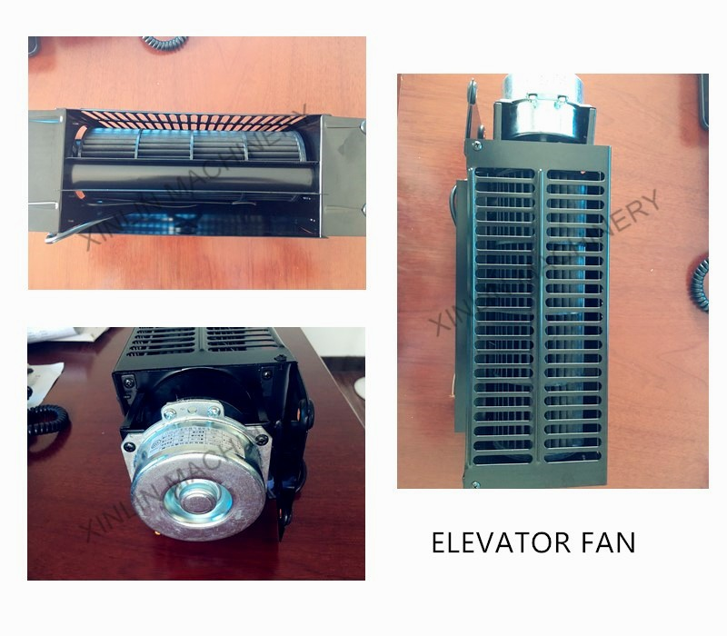 elevator cross air flow fan