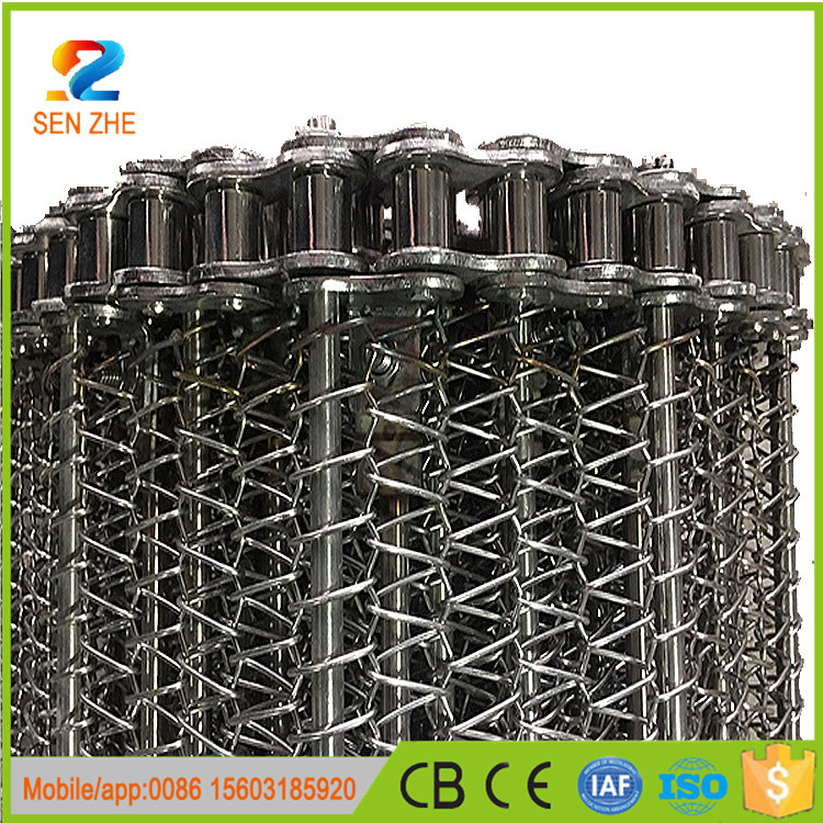 China supplier sus 304 stainless steel metal conveyor wire mesh belt for bakery ovens