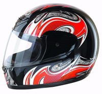 Customized fancy dot certification modular helmet with visor for motorcycle