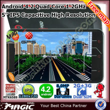 Android 2g&3g wifi gps dual sim android gps mobile phone