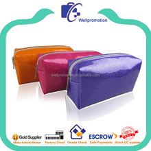 Wholesale fashion custom glitter pouch for women