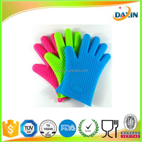 High Temperature Cooking Oven Gloves factory Silicone BBQ Mitts