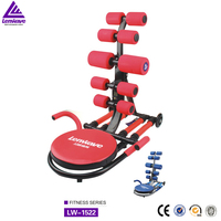High quality Factory wholesale ruggedized folding abdominal trainer weight lose machine 4-6 spring collapsible AD rocket