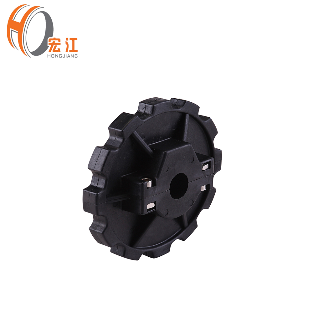 HNS880 Machined Plastic Industrial Sprocket Belt Conveyor Transition Idler Plastic Sprockets Wheel